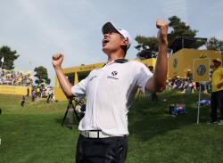 [KB금융 리브챔피언십] 프로 5년차 기대주 서형석, 예상 뒤집고 역전 우승…제네시스 포인트 1위 도약