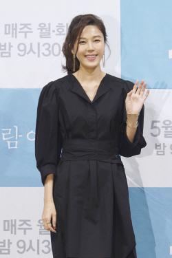 """'바람' 김하늘 """"연기는 연기, 결혼·출산은 별개"""""""