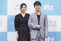 """'바람' 김하늘 """"감우성 때문에 출연…든든해"""""""