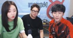 "BJ 감스트·외질혜, 방송 중 '19금 발언'..""죄송하다"""