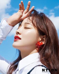 김세정, 상큼한 여름 화보 공개