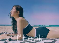 배우 한채아, 수영복 화보 공개…탄탄한 보디라인