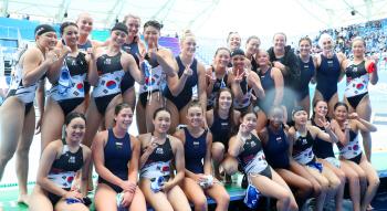 2019 광주세계수영, 수구 여자부 순위결정전