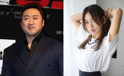"""""""결혼 빨리하고 싶다""""…마동석 연인 예정화 관심↑"""