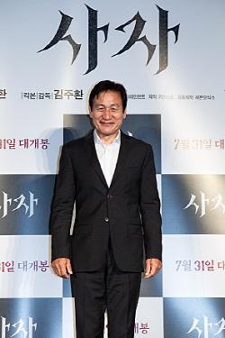"""안성기 """"중학생이 김상중 아니냐고, 더 열심히 하겠다"""""""