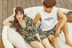 지오♥최예슬, 'SUMMER BREAK' 커플 화보 공개
