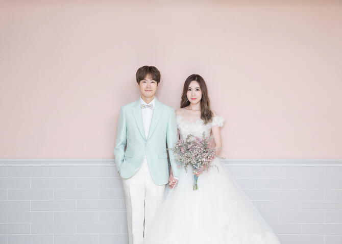 황바울♥간미연, 사랑가득 웨딩화보 공개