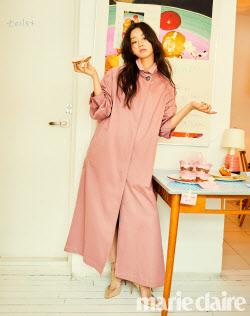 혜리, 화사한 봄 패션 제안