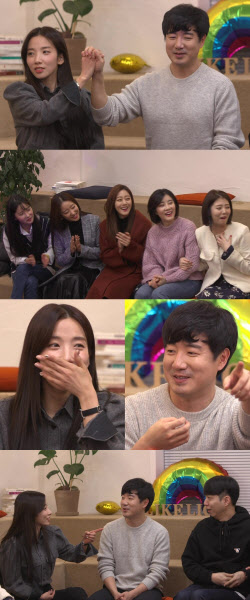 지숙♥이두희, 레인보우 만났다 '커플 청문회 개최'