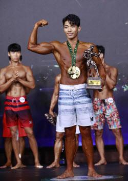 박남진, 야구선수 출신다운 피지컬