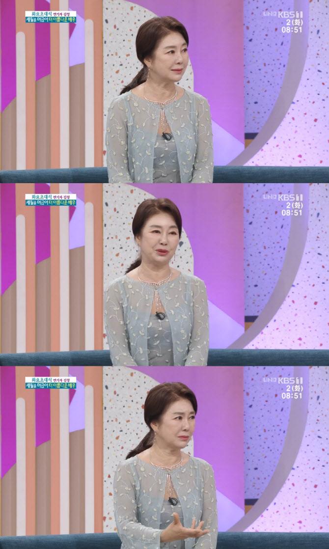 """'아침마당' 김청 """"母, 과거 사기 당해 입원…10년 넘게 빚 갚았다"""""""