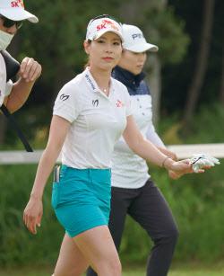 [포토]김자영 '미소로 인사하기'