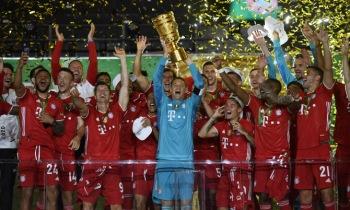 바이에른 뮌헨, 통산 20번째 DFB 포칼 우승…시즌 더블 달성