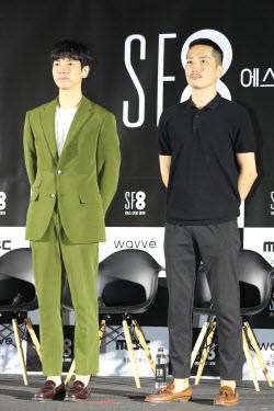 [포토]장유상-김의석 감독, '인간증명'