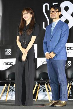 [포토]안희연-장철수 감독, '하얀 까마귀'
