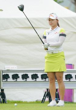 [포토]김지영 '방향 설정은 정교하게'