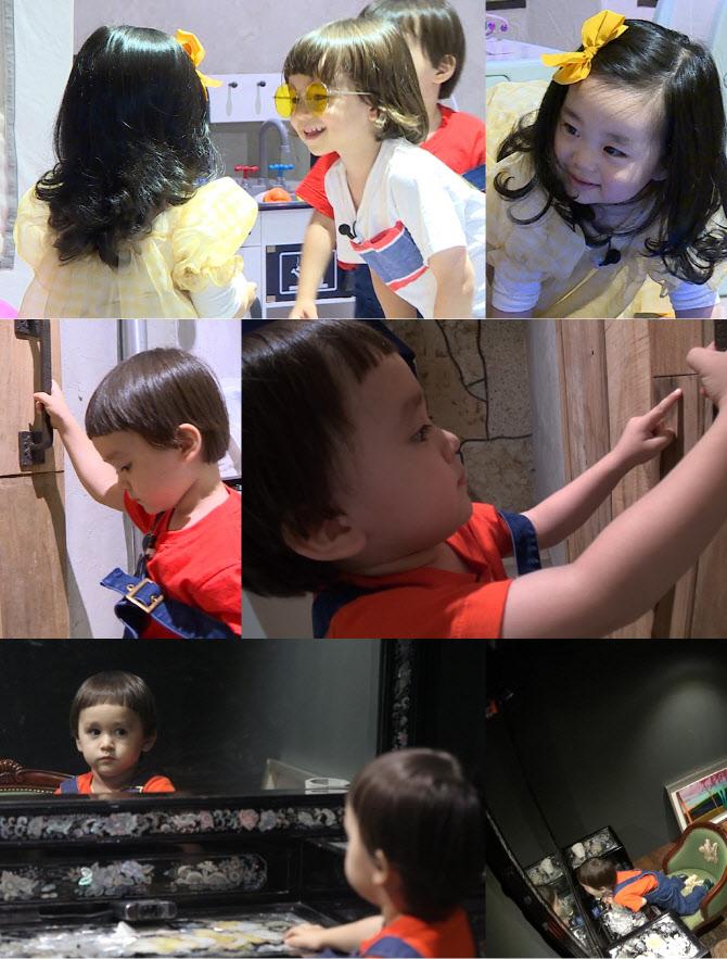'슈돌' 벤틀리, 4세 인생 최대 시련… 나홀로 '방탈출' 사투