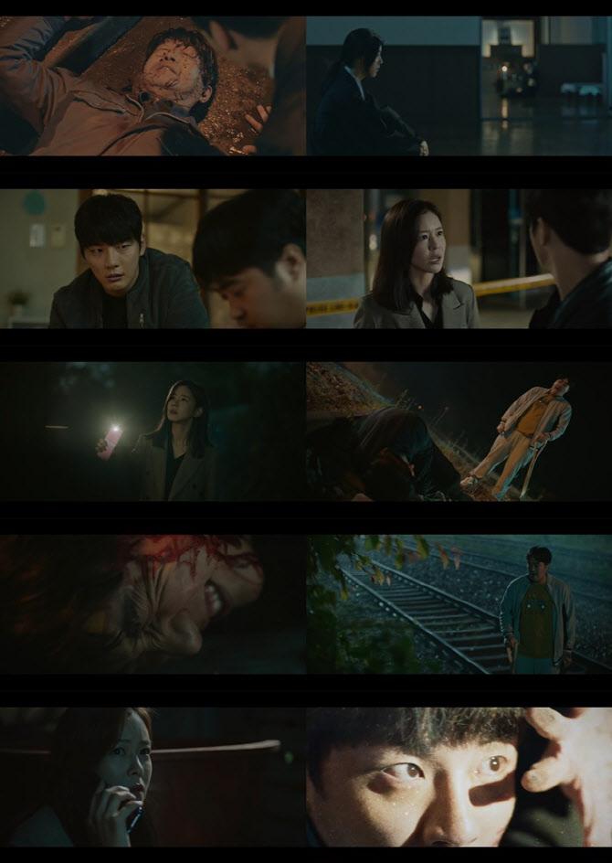 윤시윤·경수진 '트레인', 충격 전개→숨멎 엔딩…첫방부터 미친 몰입력