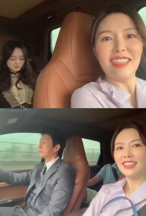 하희라 아들·딸 모습 SNS 공개…딸 최윤서 똑닮은 미모 화제
