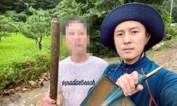 """'가평 주민' 김동완 폭우 피해 """"삽 들고 3시간 낑낑"""""""