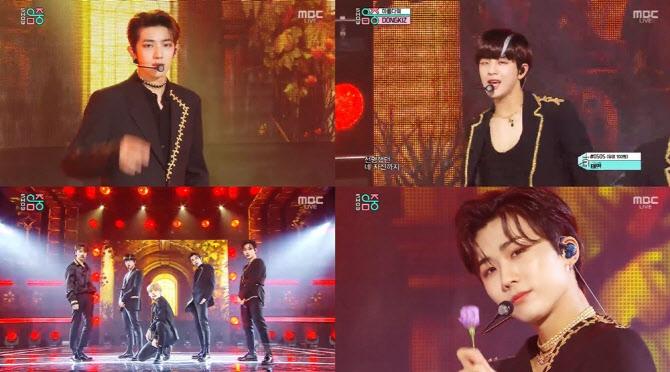 '음중' 동키즈, 보컬·랩·퍼포먼스 3박자 척척… '아름다워'