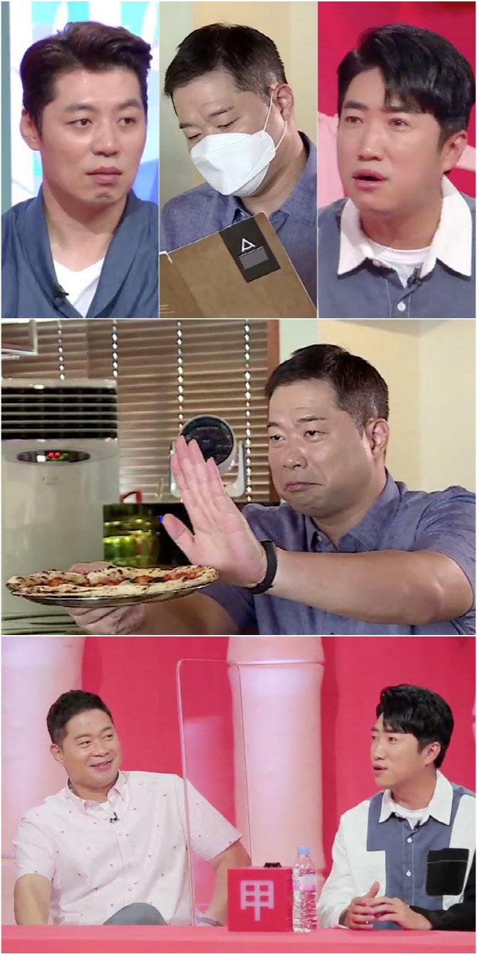 '당나귀 귀' 현주엽, 아침부터 피자 6판…남다를 '먹스킬' 자랑