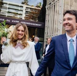 '빈민가 출신 모델' 나탈리아 보디아노바, 루이비통 회장 아들과 결혼식