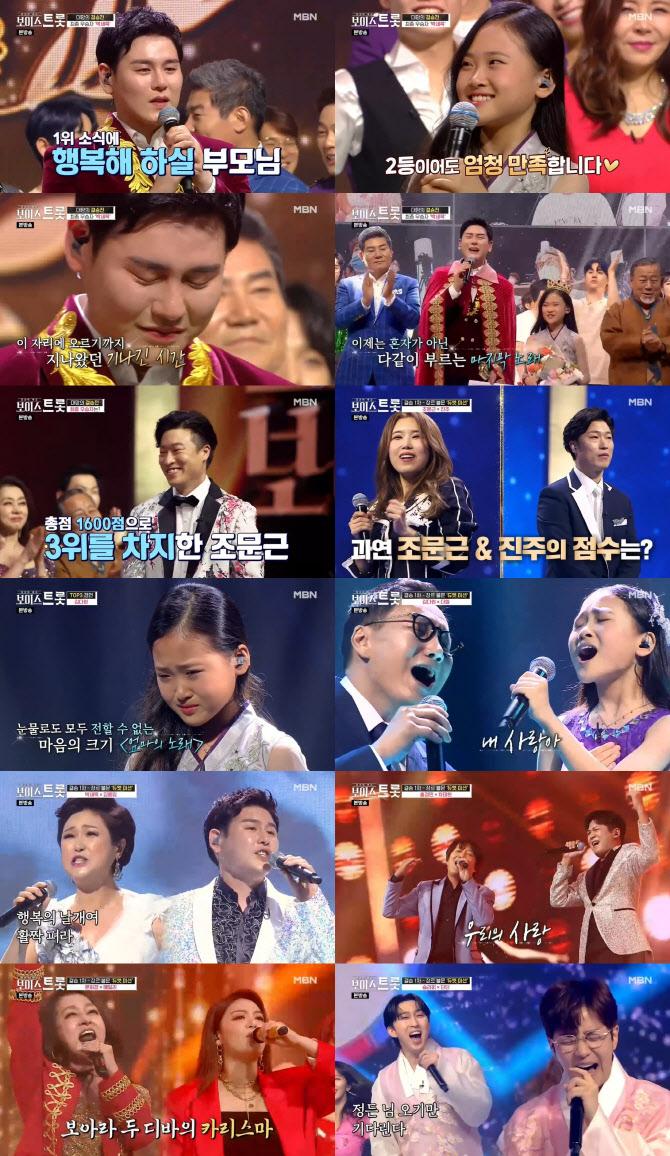 '보이스트롯' 박세욱, 25년 무명→우승…MBN 역대 최고 시청률로 종영