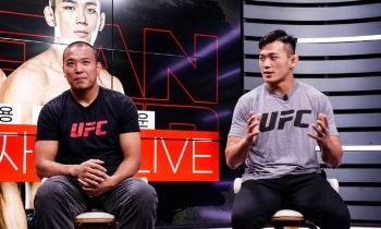 "UFC 정다운 ""내년에 랭킹 진입 목표""...박준용 ""여우처럼 싸울 것"""