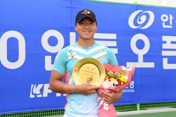 정윤성·이은혜, 안동오픈 테니스대회 남녀 단식 정상