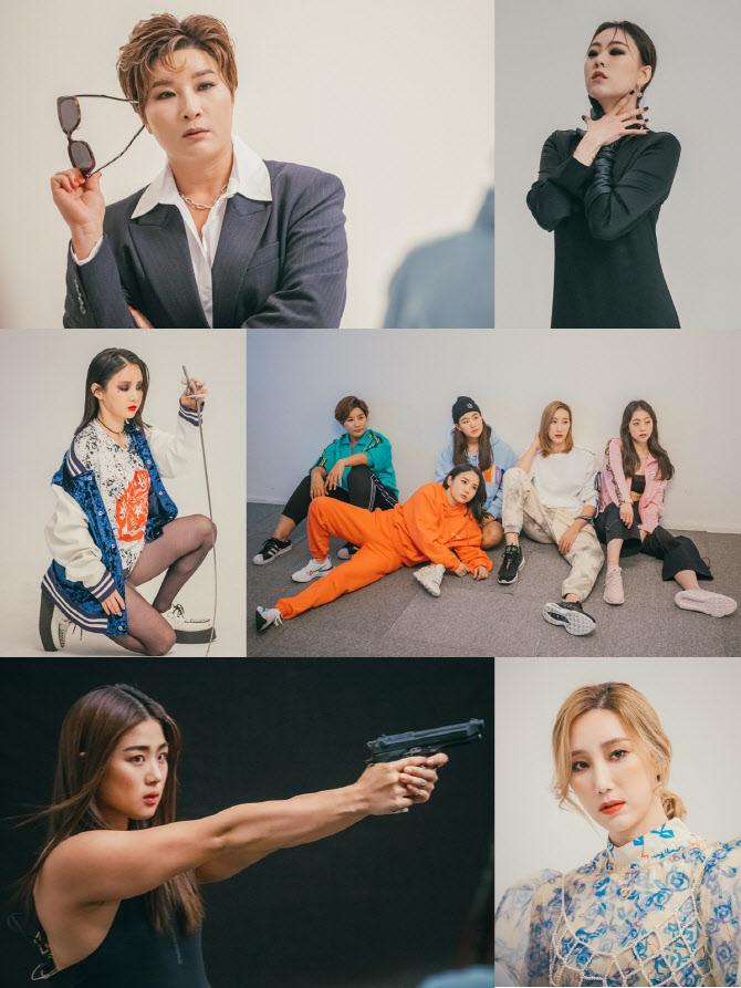 '노는 언니' 박세리→정유인, 화보 촬영 '영화 주인공 변신'