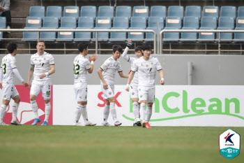 'K리그1 챔피언' 전북, 'K리그2 챔피언' 제주와 1-1 무승부