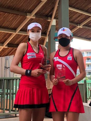 장수정·박소현, 국제테니스연맹 터키 안탈리아 대회 복식 준우승