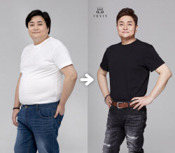 "DJ DOC 정재용 23kg 감량 ""적정체중되면 웨딩사진도 재촬영"""