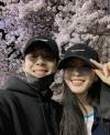 """""""예쁘게 잘 키워볼게요""""...한예슬, 10세 연하 연인과 커플샷"""