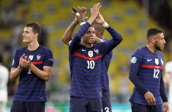 프랑스-포르투갈, 유로2020 '죽음의 조'에서 먼저 웃었다