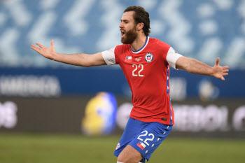 '브레레턴 결승골' 칠레, 볼리비아 1-0 제압…코파 아메리카 첫 승