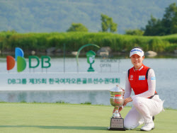 [포토]박민지 '한국여자오픈 우승 달성'