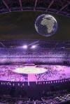 [도쿄올림픽]'평창 따라하기?' 그래도 볼만했던 드론 퍼포먼스