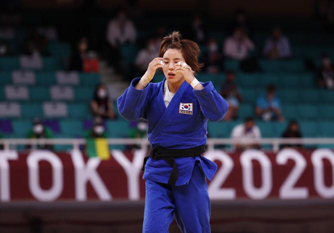 女유도 52kg급 박다솔, 천적에 패해 4강 무산