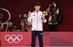 """[도쿄올림픽]눈물 흘린 안바울 """"주변분들 덕분에 일어날 수 있었다"""""""