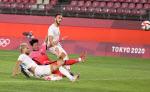 [도쿄올림픽]한국, 루마니아 자책골로 1-0 앞선 채 전반 마감