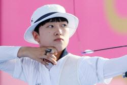 [도쿄올림픽]전관왕 노리는 안산, 개인전도 산뜻 출발...32강 진출