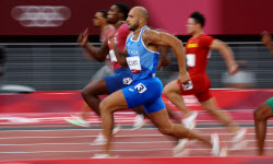 [도쿄올림픽]이탈리아 제이컵스, 육상 100m 金..새 단거리 황제 등극
