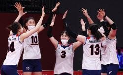 [도쿄올림픽]한국 여자배구, 세계 4위 터키와 8강 맞대결 확정