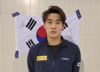 '수영 희망' 황선우, 주종목 아닌 개인혼영 100m서 월드컵 동메달