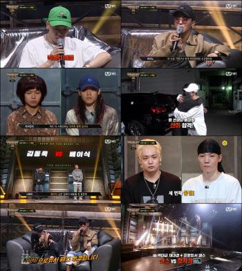 '쇼미더머니10', 아슬아슬 1대1 배틀… 산이·베이식 통과