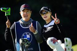 [포토] 안지현 'LPGA 대회 우승 기대해주세요'