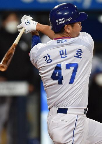 삼성, 홈런포 2방으로 극적 무승부...두산 미란다, 최다 K 신기록