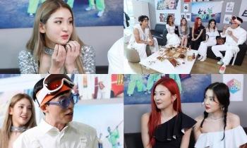 '놀면 뭐하니?' 싹쓰리, 아이돌 선배 아이린&슬기·전소미와 대기실 만남